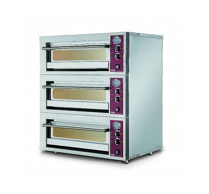 oem practico pizza oven triple deck