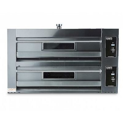 oem domitor twin deck pizza oven ihce ltd