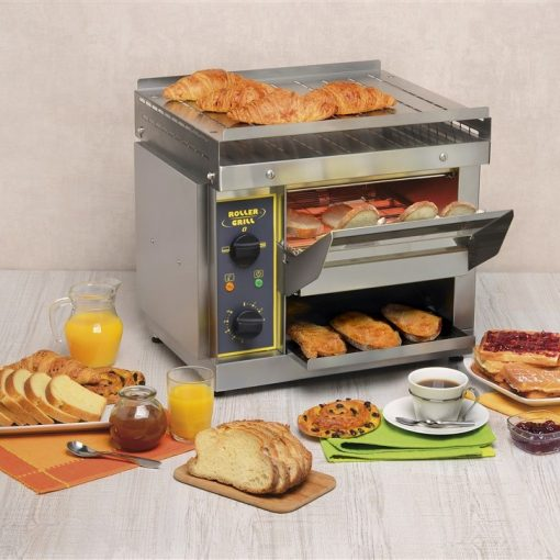 roller grill ct540 conveyor toaster serving suggestions