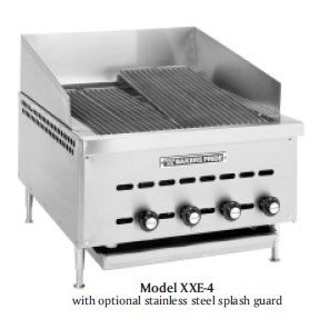 bakers pride xxe series char broiler ihce