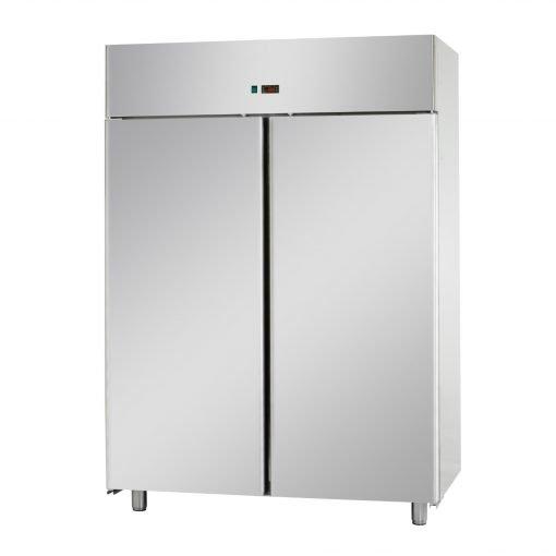 tecnodom double door upright fridge ihce