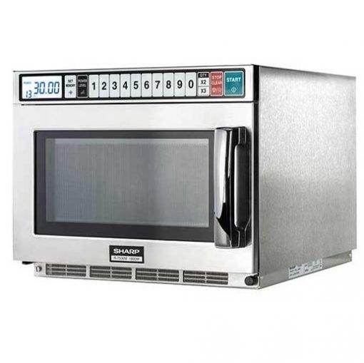 sharp r7500m heavy duty microwave 1800w ihce ltd