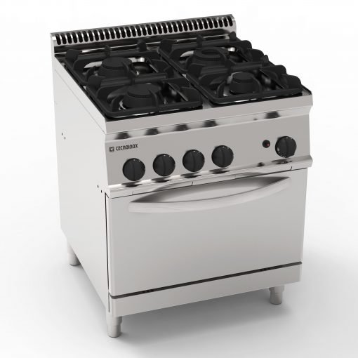 tecnoinox 4 ring gas cooker range ihce ltd tecno70